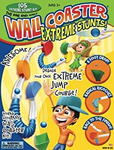 Wall Coaster Extreme Stunt Set
