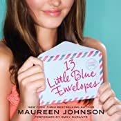 13 Little Blue Envelopes | [Maureen Johnson]