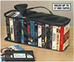 VHS STORAGE CARRY CASE - STORES UP TO...