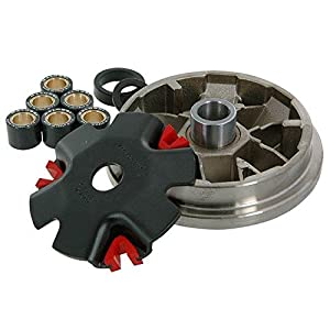 Performance Malossi Variator for the Honda Ruckus. Will help eliminate that annoying bog after initial take-off. Multivar is very easy to fit and to modify. It is developed in detail and for specific applications. With a variator that features such s...