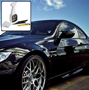 Deluxe Window Tint Kit with Application Tools - Ford Aspire Sedan 1994 1995 1996 1997 - 35% Front 5% All Others