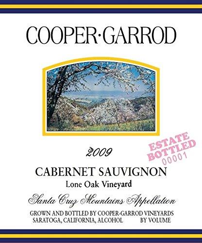 2009 Cooper-Garrod Lone Oak Vineyard Santa Cruz Mountains Cabernet Sauvignon 750 Ml