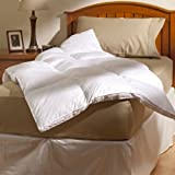 Aller-Ease 100% Cotton Allergy Protection Fiber Bed, Twin