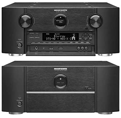 Marantz AV8801 Surround Sound Preamplifier / MM8077 7-Channel Power Amplifier Bundle from Marantz
