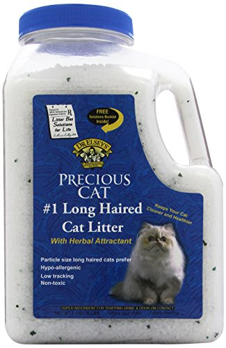 Precious Cat Long Haired Cat Litter (Just The Crystals compare prices)