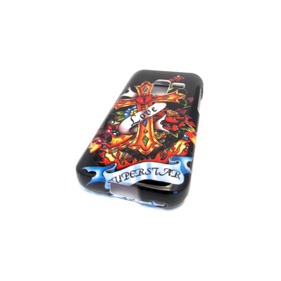 Samsung Galaxy Attain 4G R920 Love Superstar Tattoo Design HARD Case Cover Skin METRO PCS Cell Phones & Accessories