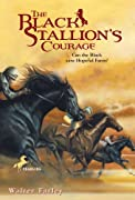 The Black Stallion's Courage by Walter Farley cover image