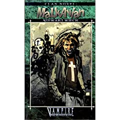 Clan Novel: Malkavian *OP (Vampire: The Masquerade Clanbooks) by Stewart Wieck
