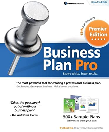 Palo Alto Business Plan Pro Premier 15th Anniversary Edition  [Download] [OLD VERSION]