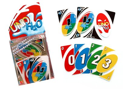OrangeTag 1 X Uno H2O Uno card game (H8165) [Toy]