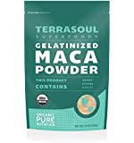 Terrasoul Superfoods Organic Gelatinized Maca Powder, 16 Ounce