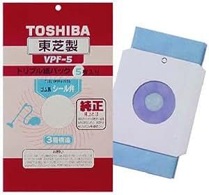 東芝 シール弁付トリプル紙パック VPF-5
