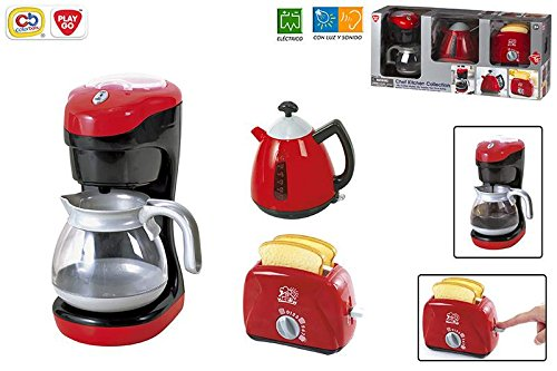 Playgo My Coffee Maker My Toaster Tea Time Kettle Chef Kitchen Collection Home Garden Dining