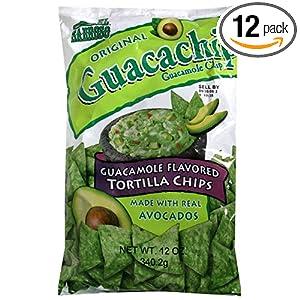 ... and Drink El_Sabroso_Guacachip_Guacamole_Flavored_Tortilla_Chips_epi