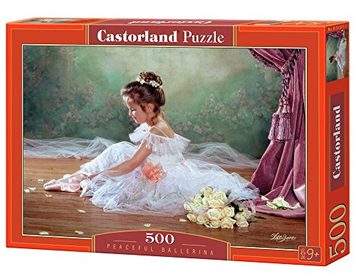 Jigsaw Puzzle - 500 Pieces - Pretty Ballerina