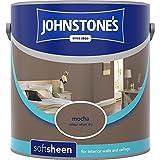 Johnstones No Ordinary Paint Water Based Interior Soft Sheen Emulsion Mocha 2.5 Litre