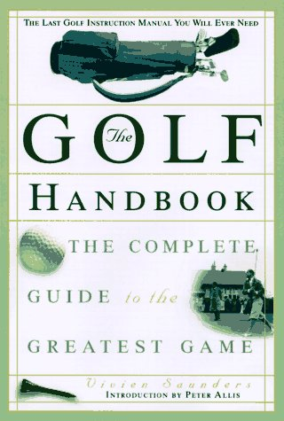 Image for Golf Handbook : The Complete Guide to the Greatest Game