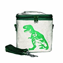 SoYoung Green Dinosaur Small Cooler Bag