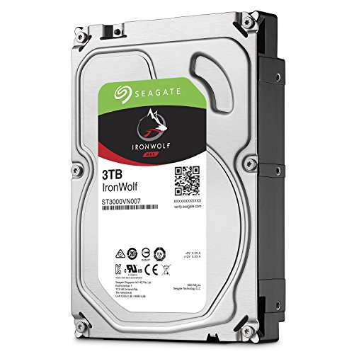 IRONWOLF 3TB NAS - IRONWOLF 3TB NAS 3.5IN 6Gb/S SATA 64MB