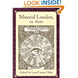 Material London, ca. 1600 (New Cultural Studies)