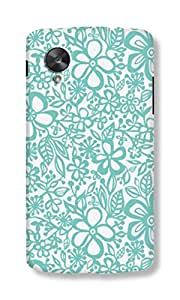 Back Cover for Nexus 5 FLORAL 5