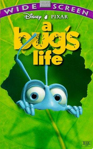 A Bug s Life  Widescreen  A Bugs Life Vhs