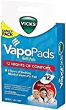 Vicks Vapo Pad Family Pack, 12-Pack