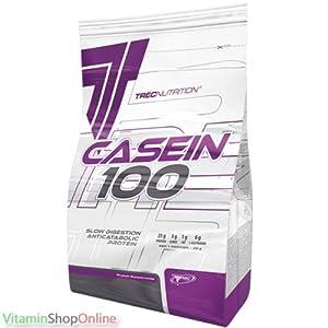 CASEIN 100 TREC 600g Caribbean chocolate NUTRITION SUPPLEMENT ANTI-CATABOLIC PROTEIN FREE P&P