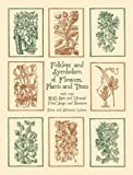 Folklore and Symbolism of Flowers, Plants and Trees (Dover Pictorial Archives)