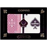 Copag Pinochle 100% Plastic Cards - 2 Decks