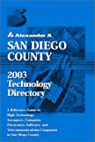 San Diego County 2003 Technology Directory
