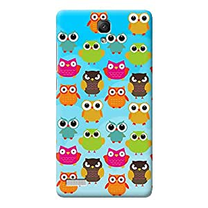 Owls in blue Redmi Note 4G case