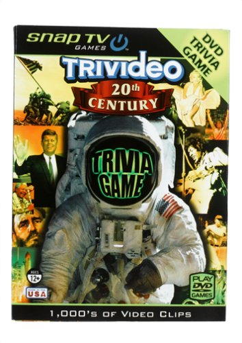 Snap TV Trivideo 20th Century DVD Trivia Game