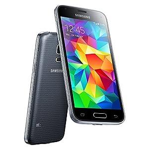 Samsung Galaxy S5 mini G800H Sim Free Dual Sim European Version Smartphone Factory Unlocked Mobile Phone (DUAL SIM VERSION BLACK)