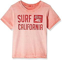 Fox Baby Boys' T-Shirt  (Brick_3-6 months_327582)