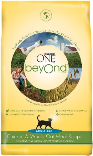 Detail image Purina One Beyond Cat Chicken Oatmeal, 3-Pounds