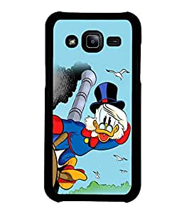 printtech Uncle Scrooge Disney Back Case Cover for Samsung Galaxy J2::Samsung Galaxy J2 J200F
