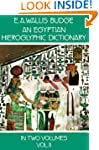 An Egyptian Hieroglyphic Dictionary,...