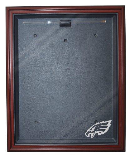 Discount Kitchen Cabinets Philadelphia: Philadelphia Eagles Cabinet Style Jersey Display Mahogany