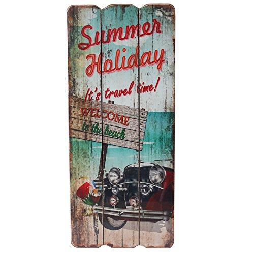panneau-en-bois-panneau-mural-decoration-murale-vintage-plage-beach-plaque-de-porte-plaque-decorativ