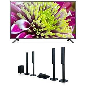 LG 55LF5809 139 cm (55 Zoll) Full HD Fernseher + LG LHA755 5.1 3D Blu-ray Heimkinosystem