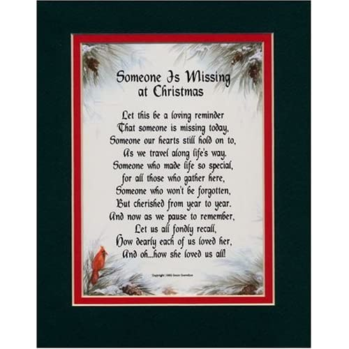 Missing Someone At Christmas Quotes: Loved Ones: Poems For Lost Loved Ones