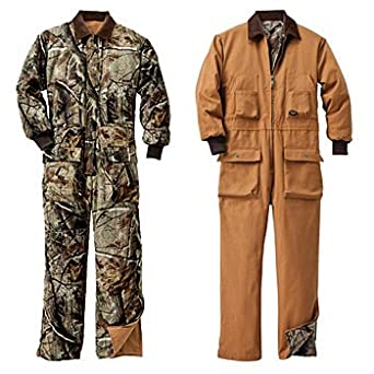 Walls Mens Insulated Reversible Coveralls Realtree All Purpose by Walls