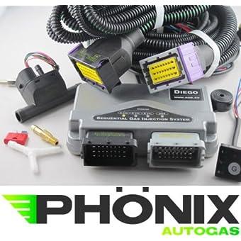 Phönix equipo Gas del coche KME Diego 4Cilindro Kit de unidad de control S