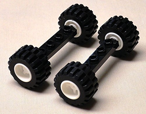 DEAL OF THE DAY!!! DO NOT MISS OUT!NEW Lego Wheels Tires Axle Sets CAR TRUCK VEHICLE PARTS city town 21mm x 12mm - 1