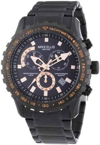 Mike Ellis New York Herren-Armbanduhr XL Chronograph Quarz Edelstahl 17987/1