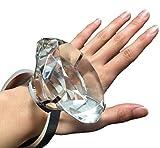 巨大 リング 指輪 60mm 80mm 結婚式 ウエディング プロポーズ サプライズ プレゼント ギフト おもちゃ 特大 サイズ (80mm)