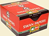 Swan Red King Size Cigarette Rolling Papers - 50 Booklets By Trendz