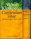 Curriculum vitae. (3351023901) by Victor Klemperer