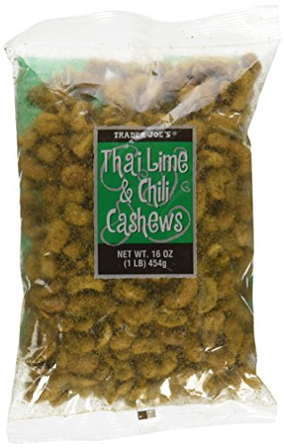 Trader Joe`s Thai Lime and Chili Cashew (Thai Lime Chili Cashews compare prices)
